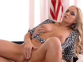 Apologise, but, milf blonde bed anal can