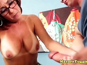 Share your off mature slut guy jerking assured, that you