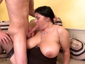 Mature plump sex