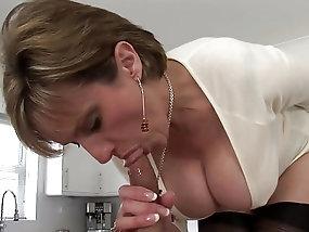Mature office sex busty